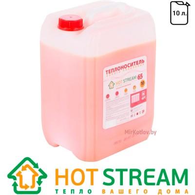 Купить Антифриз-теплоноситель для отопления Hot Stream 65 (10 л)  1 в Минске с доставкой по Беларуси