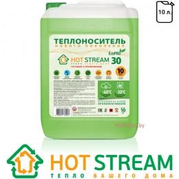 Антифриз-теплоноситель для отопления Hot Stream EcoPRO 30 (10 л)