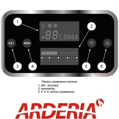 Купить Газовый котел Arderia D28 (двухконтурный котел, закрытая камера)  3 в Минске с доставкой по Беларуси