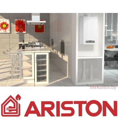 Купить Газовый котел Ariston CARES X 24 FF (двухконтурный котел, закрытая камера)  4 в Минске с доставкой по Беларуси