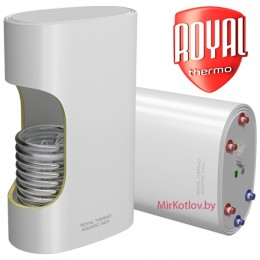 Бойлер косвенного нагрева Royal Thermo AQUATEC INOX RTWX-F 100 (плоские)