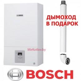 Газовый котел Bosch Gaz 6000 W WBN 12 CRN (двухконтурный котел, закрытая камера)