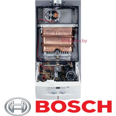 Купить Газовый котел Bosch Gaz 3000 W ZW 14-2 DH KE (двухконтурный котел, открытая камера)  1 в Минске с доставкой по Беларуси