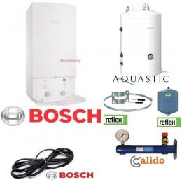 Комплект ОПТИМА Bosch Gaz 7000 W ZSC 24 MFA + AQ IND 150 SC