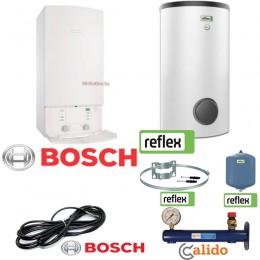Комплект ЛЮКС Bosch Gaz 7000 W ZSC 24 MFA + Reflex Aqua AF 150/1M