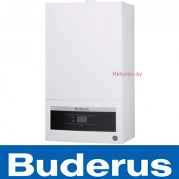 Газовый котел Buderus Logamax U072 24К (двухконтурный котел, закрытая камера)