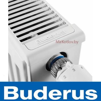 Радиатор стальной 22 тип ВЫСОТА 500 мм BUDERUS (боковое подключение)