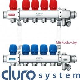 Гребенка для радиаторов DURO System E-D/S-RN-ZR-6 выходов