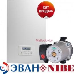 Электрический котел ЭВАН PRACTIC PUNP 21 (Насос WILO RS 15/5-3PL)