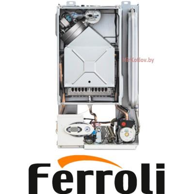 Купить Газовый котел Ferroli Divabel F10 (двухконтурный котел, закрытая камера)  1 в Минске с доставкой по Беларуси
