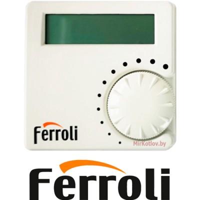 Купить Газовый котел Ferroli Fortuna F24 с термостатом (двухконтурный котел, закрытая камера)  2 в Минске с доставкой по Беларуси