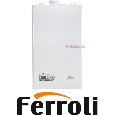 Газовый котел Ferroli Fortuna F13 с термостатом (двухконтурный котел, закрытая камера)