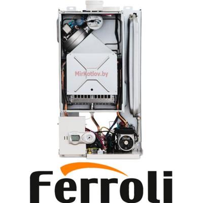 Купить Газовый котел Ferroli Fortuna F18 (двухконтурный котел, закрытая камера)  2 в Минске с доставкой по Беларуси