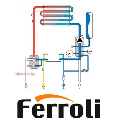 Купить Газовый котел Ferroli Fortuna F18 (двухконтурный котел, закрытая камера)  3 в Минске с доставкой по Беларуси