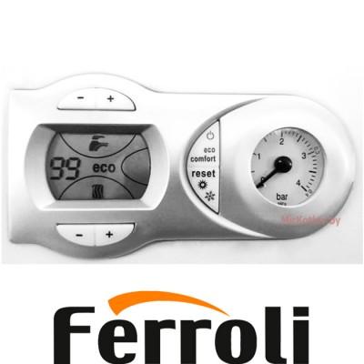 Газовый котел Ferroli Fortuna F18 с термостатом (двухконтурный котел, закрытая камера)