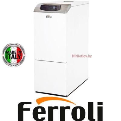 Напольный газовый котел Ferroli Pegasus D 45 K 130 (со встроенным бойлером, атмосферный)