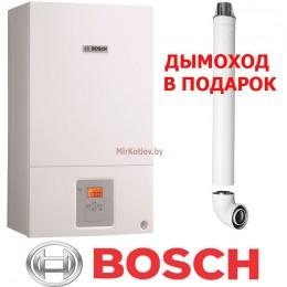 Газовый котел Bosch Gaz 6000 W WBN 18 CRN (двухконтурный котел, закрытая камера)