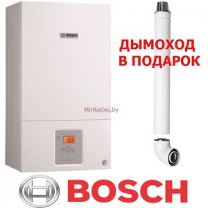 Газовый котел Bosch Gaz 6000 W WBN 24 CRN (двухконтурный котел, закрытая камера)