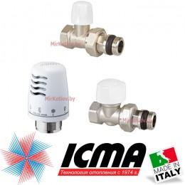 """Комплект термостатический 1/2"""" (прямой) ICMA"""