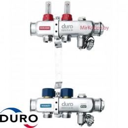 Коллектор (Гребенка) Duro D/S-RN-OP из нержавеющей стали, 2 выхода
