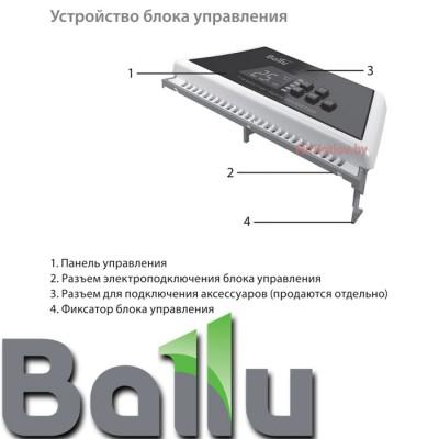 Купить Инверторный блок управления конвектора Ballu Evolution Transformer BCT/EVU-2,5I  4 в Минске с доставкой по Беларуси