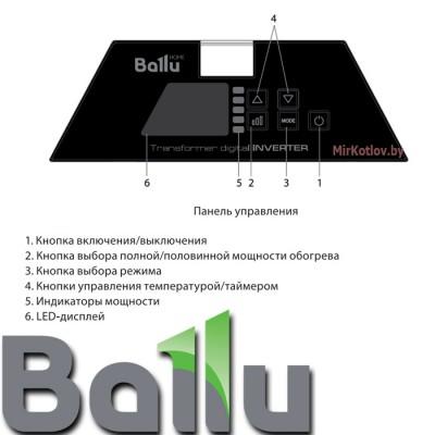 Купить Инверторный блок управления конвектора Ballu Evolution Transformer BCT/EVU-2,5I  5 в Минске с доставкой по Беларуси