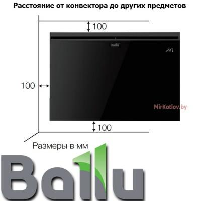 Купить Конвектор электрический Ballu BEP/EXT-1500  2 в Минске с доставкой по Беларуси