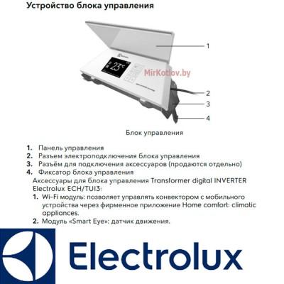 Купить Инверторный электрический конвектор Electrolux ECH/R-2000 T-TUI3  5 в Минске с доставкой по Беларуси