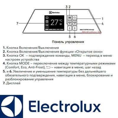 Купить Инверторный электрический конвектор Electrolux ECH/AG2-2000 T-TUI3  10 в Минске с доставкой по Беларуси