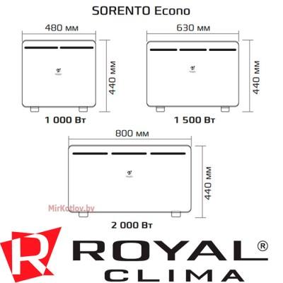 Купить Конвектор электрический Royal Clima REC-SE2000M  3 в Минске с доставкой по Беларуси