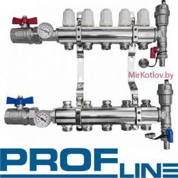 Гребенка (Коллектор) для радиаторов отопления PROFLine XF 20102-10 выходов