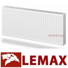 Стальной панельный радиатор Лемакс Compact 22 500x1000 (боковое подключение)