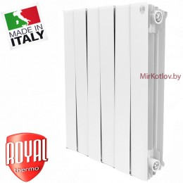 Биметаллический радиатор Royal Thermo PianoForte 500 Bianco Traffico (10 секций)