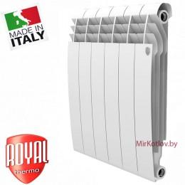 Биметаллический радиатор Royal Thermo BiLiner 500 Bianco Traffico (1 секция)