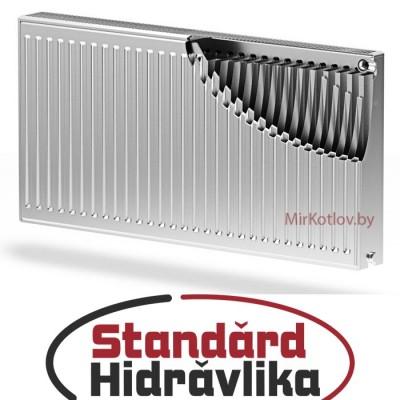 Стальной панельный радиатор STANDARD HIDRAVLIKA 22 500x400 (боковое подключение)