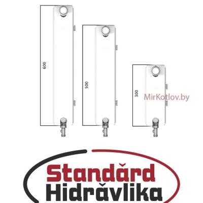 Стальной панельный радиатор STANDARD HIDRAVLIKA 22 500x1800 (боковое подключение)