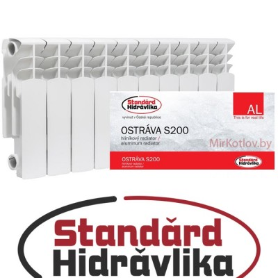 Радиатор алюминиевый Standard Hidravlika Ostrava S200 (200/96)