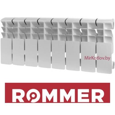 Алюминиевый радиатор Rommer Plus 200 (10 секций)