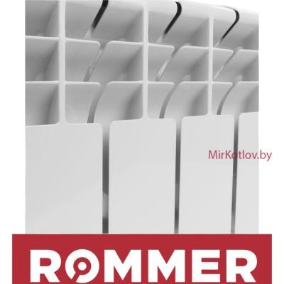 Купить Алюминиевый радиатор Rommer Plus 200 (10 секций)  3 в Минске с доставкой по Беларуси