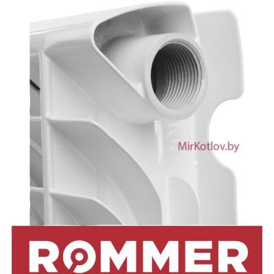 Купить Алюминиевый радиатор Rommer Plus 200 (10 секций)  4 в Минске с доставкой по Беларуси