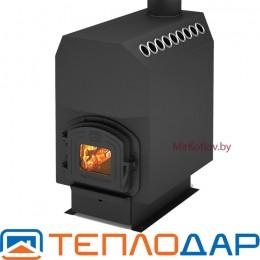 Печь отопительная Теплодар ТОП 300 с чугунной дверцей