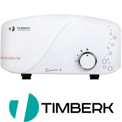 Электрический проточный водонагреватель Timberk WHEL-6 OSC PRIMALUX
