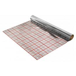 Фольга д/теплых полов с разметкой в рулоне 50 м толщина 0,45 мкм