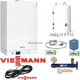 Комплект ОПТИМА Viessmann Vitopend-100W 24 кВт + AQ IND 150 SC