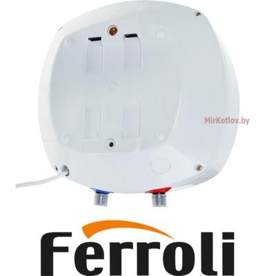 Электрический накопительный водонагреватель Ferroli MOON SN10 (над раковиной)