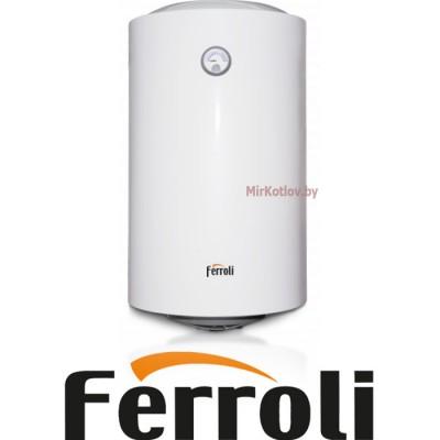 Электрический накопительный водонагреватель Ferroli E-Glass 100V (вертикальный)