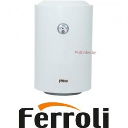 Водонагреватель Ferroli E-glasstech VBO50 (ТЭН - медь)