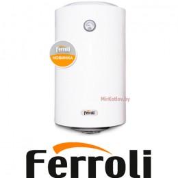 Водонагреватель Ferroli E-glasstech VBO50 (ТЭН - нерж.)