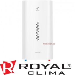 Водонагреватель накопительный электрический плоский Royal Clima RWH-ST80-FS