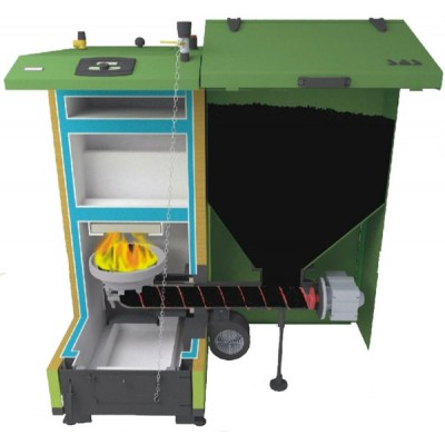 Купить Твердотопливный пеллетный котел SAS BIOMulti 36 kWt  2 в Минске с доставкой по Беларуси